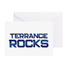 terrance rocks Greeting Card