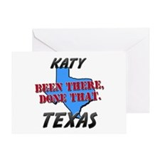 katy texas - been there, done that Greeting Card