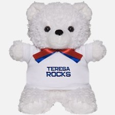 teresa rocks Teddy Bear