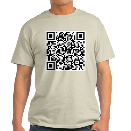 QR code If you can read this you're a geek Light T