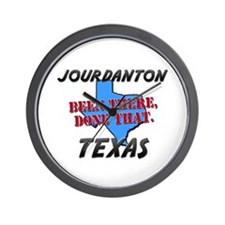 jourdanton texas - been there, done that Wall Cloc