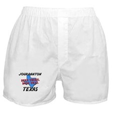 jourdanton texas - been there, done that Boxer Sho