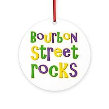 Bourbon Street Rocks Ornament (Round)