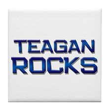 teagan rocks Tile Coaster
