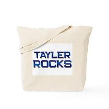 tayler rocks Tote Bag