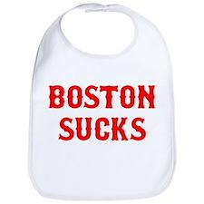 Boston Sucks Bib