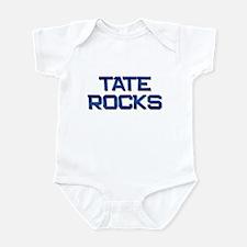 tate rocks Infant Bodysuit