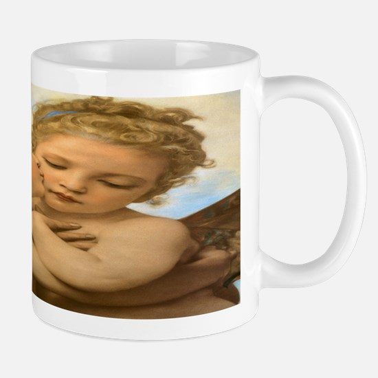 First Kiss by Bouguereau Mug