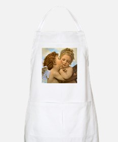 First Kiss by Bouguereau Apron