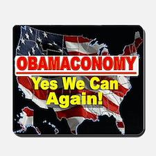 Obamaconomy Mousepad