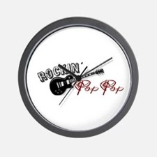 Rockin' Pop Pop (2009) Wall Clock