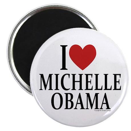 I Love Michelle Magnet