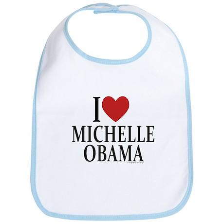 I Love Michelle Bib