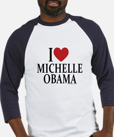I Love Michelle Baseball Jersey