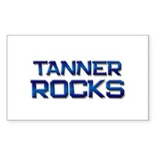 tanner rocks Rectangle Decal