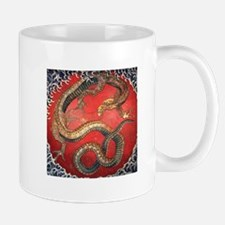 Hokusai Dragon Mug
