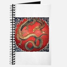 Hokusai Dragon Journal