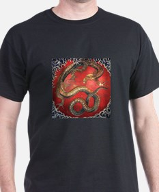 Hokusai Dragon T-Shirt