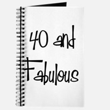 40 and Fabulous Journal