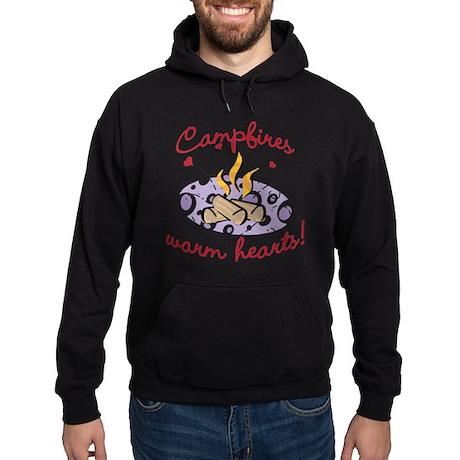 CAMPFIRES WARM HEARTS! Hoodie (dark)