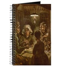 Van Gogh Potato Eaters Journal