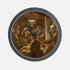 Van Gogh Potato Eaters Wall Clock