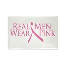 Real Men Wear Pink (2009) Rectangle Magnet
