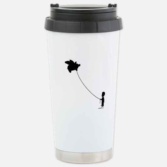 WHEN PIGS FLY Stainless Steel Travel Mug