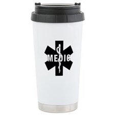 Medic EMS Star Of Life Travel Coffee Mug