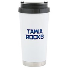 tamia rocks Travel Mug