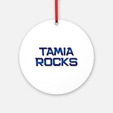 tamia rocks Ornament (Round)