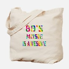80's Music Tote Bag