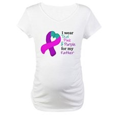 I WEAR TRI for my Father Shirt