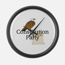 Constitution Party Large Wall Clock