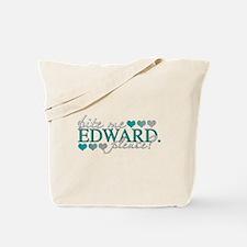 Bite Me, Edward! Tote Bag