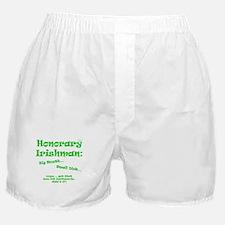 honorary irishman Boxer Shorts