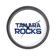 tamara rocks Wall Clock