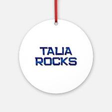 talia rocks Ornament (Round)