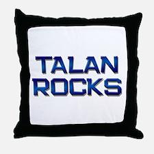 talan rocks Throw Pillow