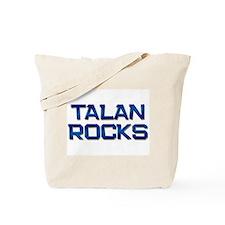 talan rocks Tote Bag
