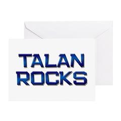 talan rocks Greeting Card