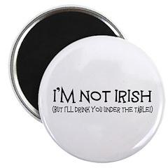 Irish Drinking Magnet