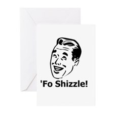 'Fo Shizzle Greeting Cards (Pk of 10)
