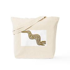 Mayan Serpent-gold Tote Bag