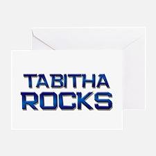 tabitha rocks Greeting Card