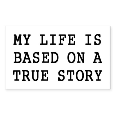 My Life Sticker (Rectangle)