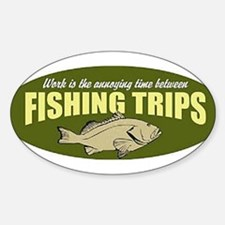 Fishing Trip Oval Decal