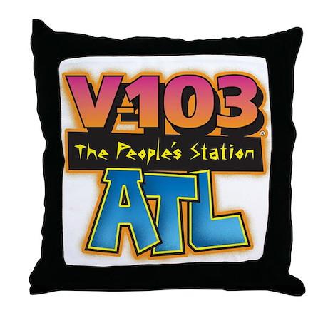 V-103 ATL Throw Pillow