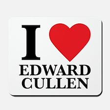 I Love Edward Cullen Mousepad