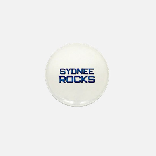 sydnee rocks Mini Button
